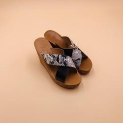 ALISSON Metyl Piombo Hawai White leather- 36