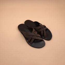 CHILI H Brown Sole EPURE  Nubuck Ebony Leather 40H