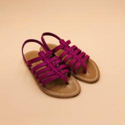 HOMERE Pul Purple Leather - 37