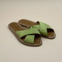 XANDAR Nubuk Anis leather - 40
