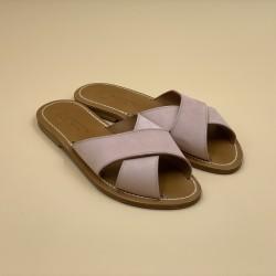 XANDAR Nubuk Berry leather - 41