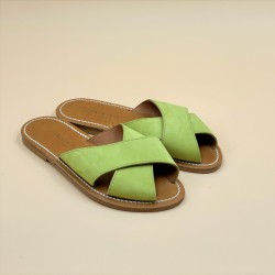 XANDAR Nubuk Anis leather - 38